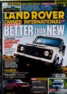 Land Rover Owner Magazine Issue JAN 21