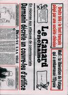 Le Canard Enchaine Magazine Issue 14