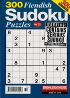 300 Fiendish Sudoku Puzzle Magazine Issue NO 72
