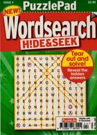 Puzzlelife Ppad Wordsearch H&S Magazine Issue NO 4