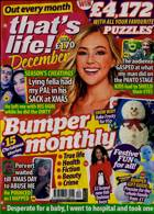 Thats Life Monthly Magazine Issue DEC 20