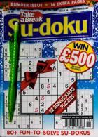 Take A Break Sudoku Magazine Issue NO 14