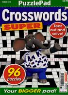 Puzzlelife Crossword Super Magazine Issue NO 33
