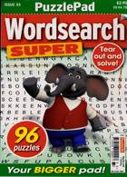 Puzzlelife Wordsearch Super Magazine Issue NO 33