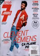 Tele 7 Jours Magazine Issue NO 3157