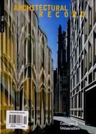 Architectural Record Magazine Issue NOV 20