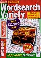 Family Wordsearch Variety Magazine Issue NO 65