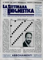 La Settimana Enigmistica Magazine Issue NO 4630