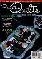 Primitive Quilts Magazine Issue WINTER