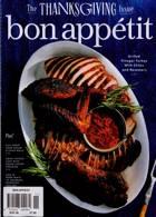 Bon Appetit Magazine Issue NOV 20