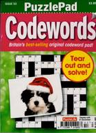 Puzzlelife Ppad Codewords Magazine Issue NO 53