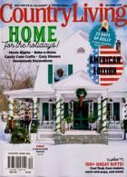 Country Living Usa Magazine Issue DEC 20