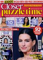 Closer Puzzle Time Magazine Issue N20 JAN21