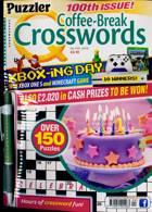 Puzzler Q Coffee Break Crossw Magazine Issue NO 100