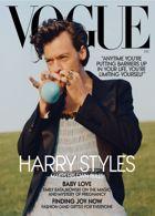 Vogue Usa Harry Styles Magazine Issue HARRY STYLES DEC