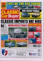 Classic Car Buyer Magazine Issue 20/01/2021