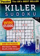Puzzler Killer Sudoku Magazine Issue NO 179