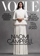 Vogue Usa November 2020 - Naomi Campbell Magazine Issue NOV 20