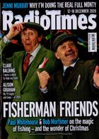 Radio Times London Edition Magazine Issue  12/12/2020