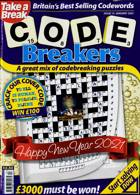 Take A Break Codebreakers Magazine Issue N13 JAN 21