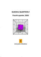 Sudoku Quarterly Magazine Issue 4th quart 20