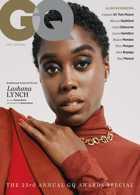 Gq Uk Jan/Feb 21 - Lashana Lynch Magazine Issue LASHANA
