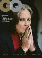 Gq Uk Jan/Feb 21 - Ozzy Osbourne Magazine Issue OZZY