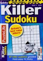 Puzzlelife Killer Sudoku Magazine Issue NO 17