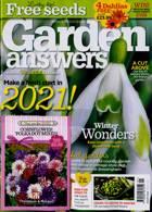 Garden Answers Magazine Issue JAN 21