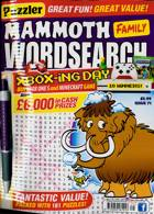 Puzz Mammoth Fam Wordsearch Magazine Issue NO 71