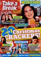 Take A Break Fiction Feast Magazine Issue XMAS