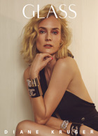 Glass Winter 20 Diane Kruger Magazine Issue D. Kruger