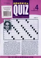 Domenica Quiz Magazine Issue NO 4
