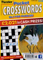 Puzzler Pocket Crosswords Magazine Issue NO 446