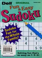 Original Sudoku Magazine Issue WINTER