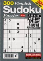 300 Fiendish Sudoku Puzzle Magazine Issue NO 73