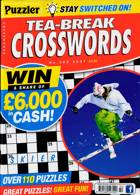 Puzzler Tea Break Crosswords Magazine Issue NO 302