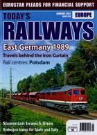 Todays Railways Europe Magazine Issue JAN 21