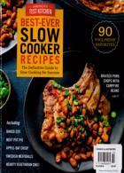 Americas Test Kitchen Magazine Issue SLOWCK