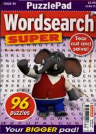 Puzzlelife Wordsearch Super Magazine Issue NO 34