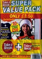 Take A Break Super Value Pack Magazine Issue PACK  15