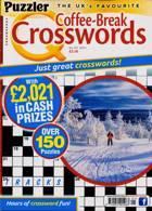 Puzzler Q Coffee Break Crossw Magazine Issue NO 101