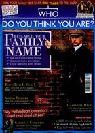 Who Do You Think You Are Magazine Issue MAR 21
