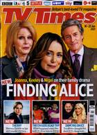 Tv Times England Magazine Issue 16/01/2021