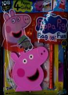 Peppa Pig Bag 0 Fun Magazine Issue NO 137