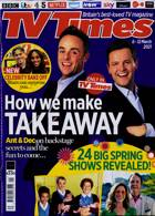 Tv Times England Magazine Issue 06/03/2021