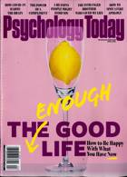 Psychology Today Magazine Issue APR 21