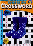 Bumper Big Crossword Magazine Issue 01