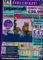 Papercraft Essentials Magazine Issue NO 196