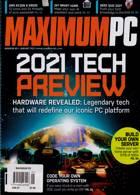 Maximum Pc Magazine Issue JAN 21